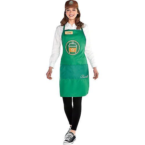 Adult Barista & Puppy Latte Doggy & Me Costumes Image #3