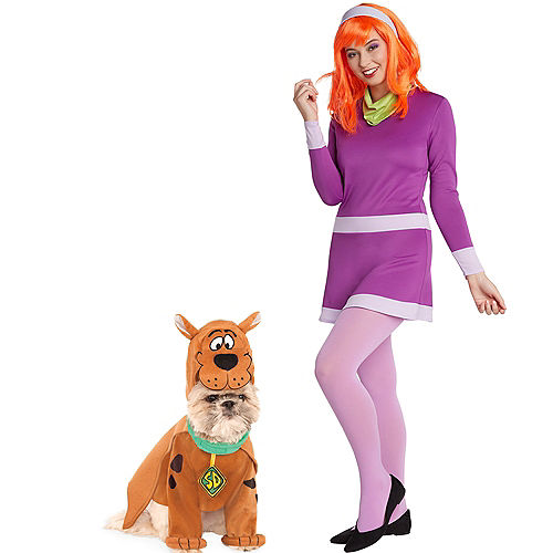 Adult Daphne & Scooby Doo Doggy & Me Costumes - Scooby-Doo Image #1