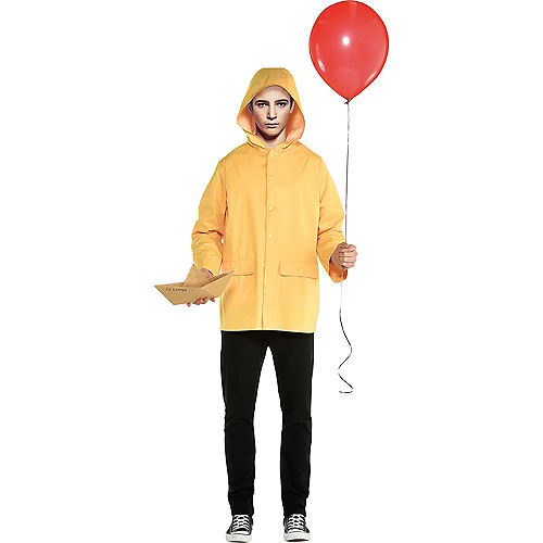 Adult Georgie & Walking Pennywise Doggy & Me Costumes - It Image #2