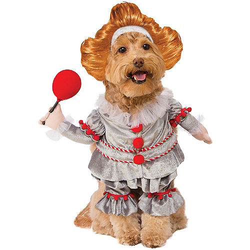 Adult Georgie & Walking Pennywise Doggy & Me Costumes - It Image #3