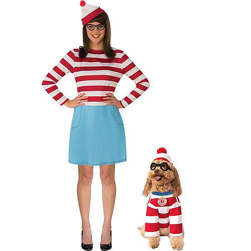 Adult Where's Wenda & Where's Waldo Doggy & Me Costumes - Where's Waldo Image #1