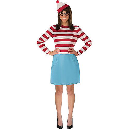 Adult Where's Wenda & Where's Waldo Doggy & Me Costumes - Where's Waldo Image #2