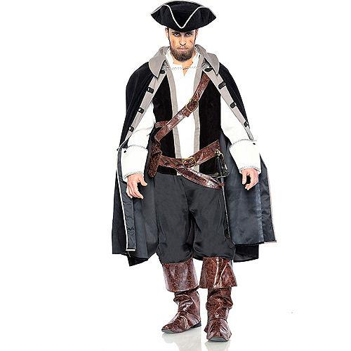 Adult Sailor Captain & Pirate Captain Couples Costumes Image #3