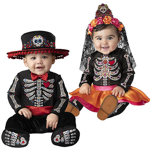 Day of the Dead Family Costumes Image #4