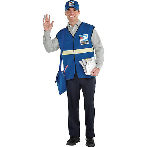 Adult Mailman & USPS Postman Doggy & Me Costumes Image #2