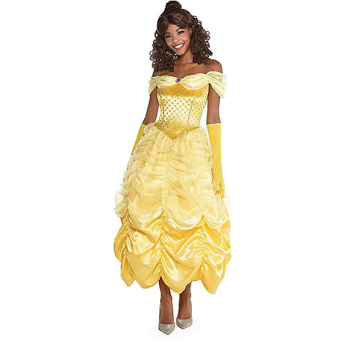 Adult Belle & Beast Doggy & Me Costumes - Beauty and the Beast Image #2
