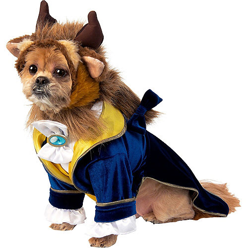 Adult Belle & Beast Doggy & Me Costumes - Beauty and the Beast Image #3
