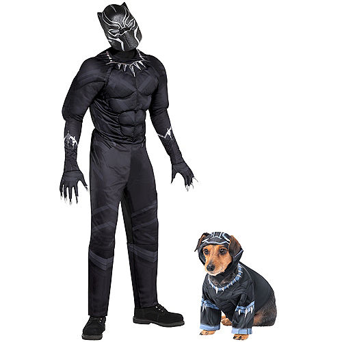 Black Panther Doggy & Me Costumes Image #1