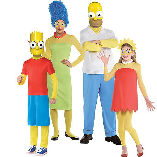 Simpsons Family Costumes Image #1