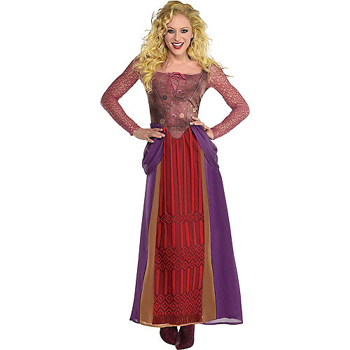 Sanderson Sisters Group Costumes for Adults - Disney Hocus Pocus Image #3