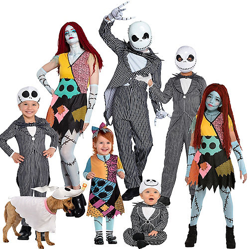 The Nightmare Before Christmas Family Costumes Image #1