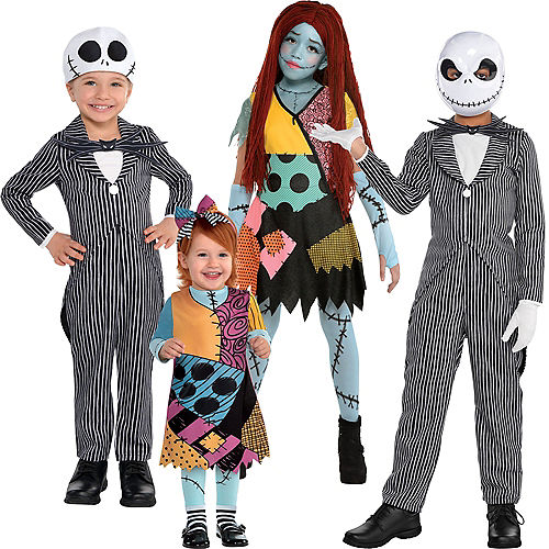 The Nightmare Before Christmas Family Costumes Image #3