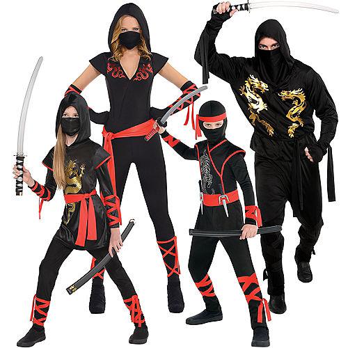 Ninja Family Costumes Image #1