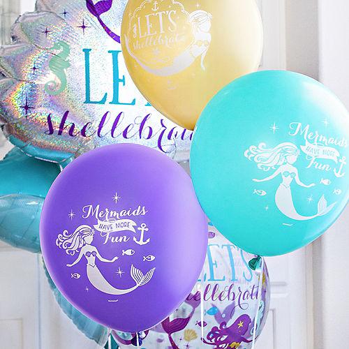 Mermaid Customizable Balloon Collection Image #2