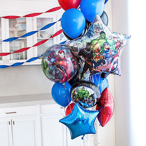 Marvel Powers Unite Customizable Balloon Bouquet Collection Image #1