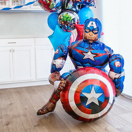 Marvel Powers Unite Customizable Balloon Bouquet Collection Image #2