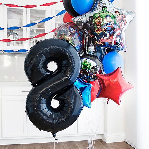 Marvel Powers Unite Customizable Balloon Bouquet Collection Image #3