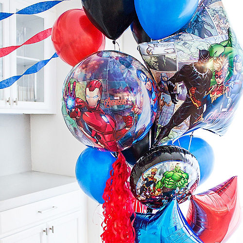 Marvel Powers Unite Customizable Balloon Bouquet Collection Image #8