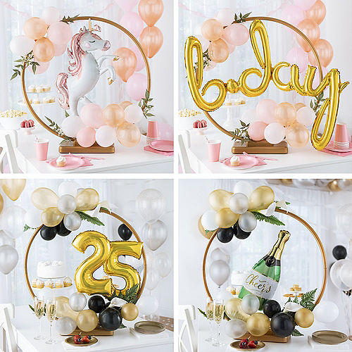 Build Your Own Tabletop or Hangable Balloon Hoop Image #1