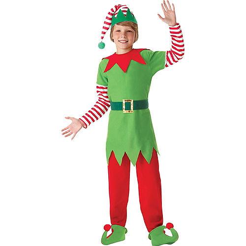 Boys Elf Costume Image #1