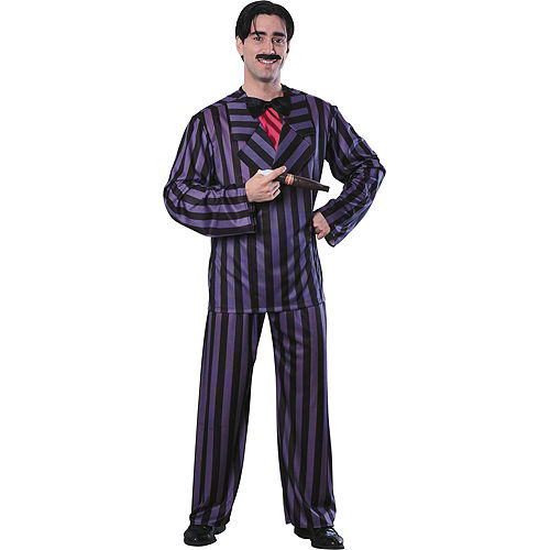 Adult Gomez Addams Costume Deluxe - Addams Family Image #1