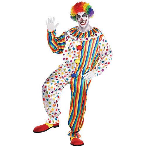 Adult Clown Jumpsuit Costume Image #1