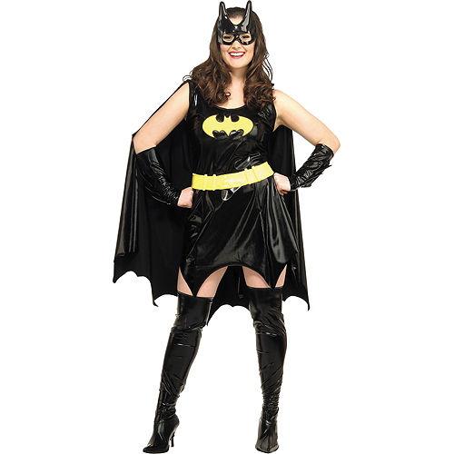 Adult Batgirl Costume Plus Size - Batman Image #1
