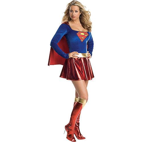 Adult Classic Supergirl Costume - Superman Image #1