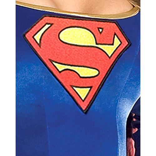 Adult Classic Supergirl Costume - Superman Image #2