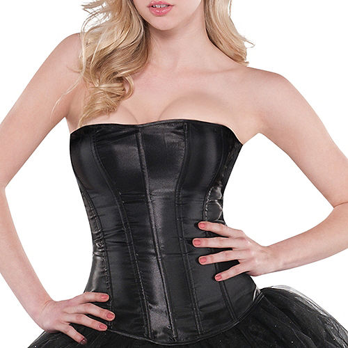Classic Black Corset Image #2