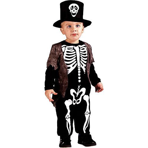 Toddler Boys Happy Skeleton Costume Image #1