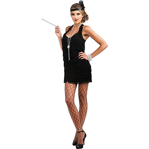 Adult Lindy & Lace Flapper Costume Image #1