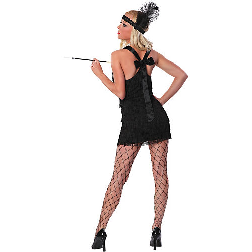 Adult Lindy & Lace Flapper Costume Image #2