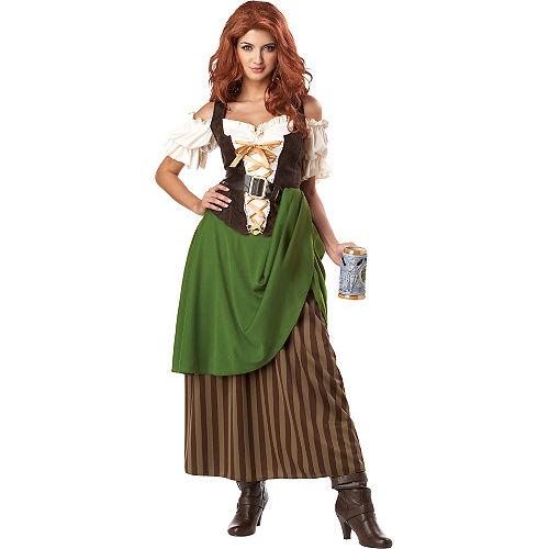 Adult Tavern Maiden Costume Image #1