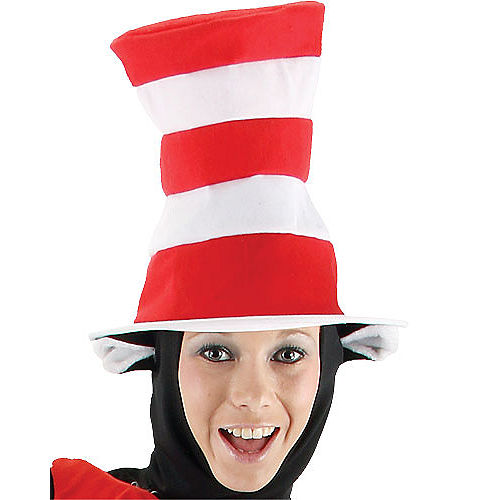 Adult Cat in the Hat Costume Deluxe - Dr. Seuss Image #2
