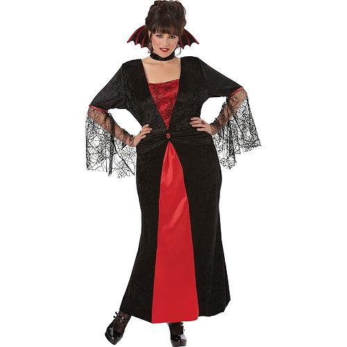 Adult Countess Vampiretta Vampire Costume Plus Size Image #1