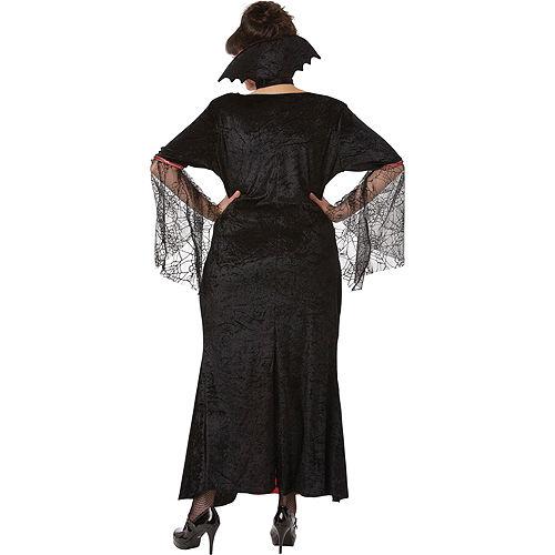 Adult Countess Vampiretta Vampire Costume Plus Size Image #2