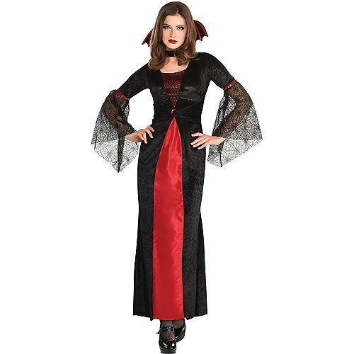 Adult Countess Vampiretta Vampire Costume Image #1