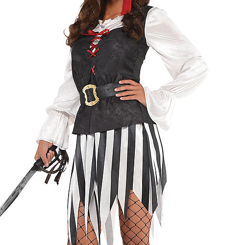 Adult High Sea Sweetie Pirate Costume Image #3