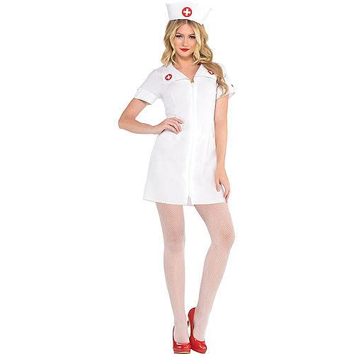 Adult Hospital Honey Nurse Costume Image #1
