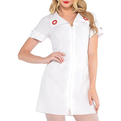 Adult Hospital Honey Nurse Costume Image #3