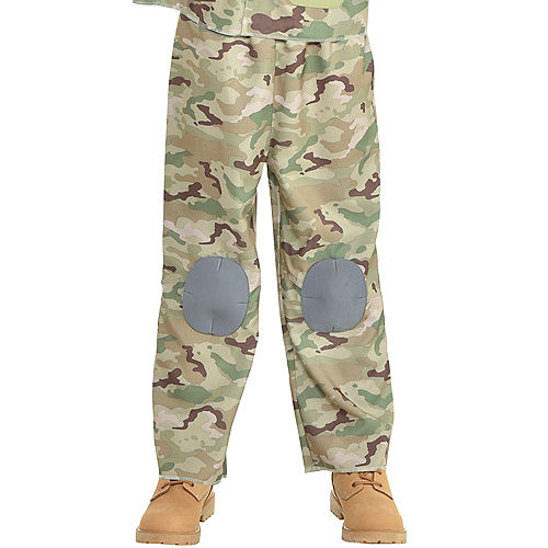 Boys Combat Soldier Costume Image #4