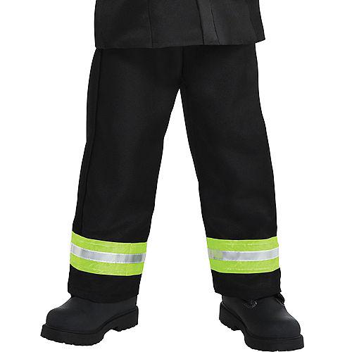 Boys Reflective Firefighter Costume Image #4