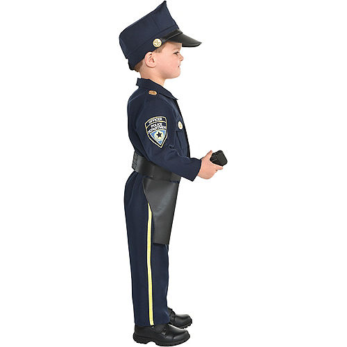 Kids' Classic Police Officer Deluxe Costume Image #2