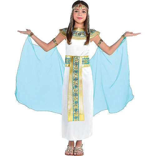 Girls Shimmer Cleopatra Costume Image #1