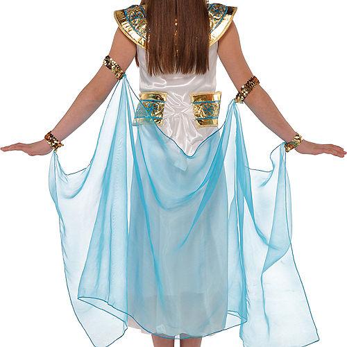 Girls Shimmer Cleopatra Costume Image #3