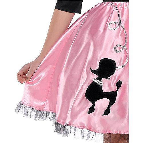 Girls Miss Sock Hop Costume Image #3