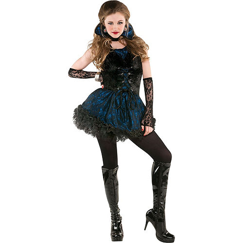 Adult Midnight Vampire Costume Image #1