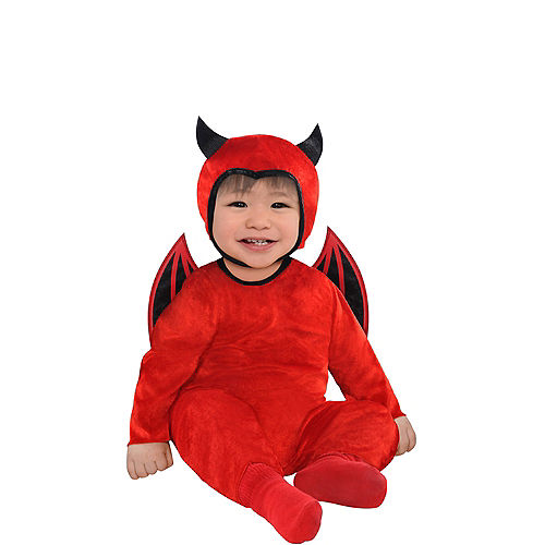 Baby Cute as a Devil Costume Image #1