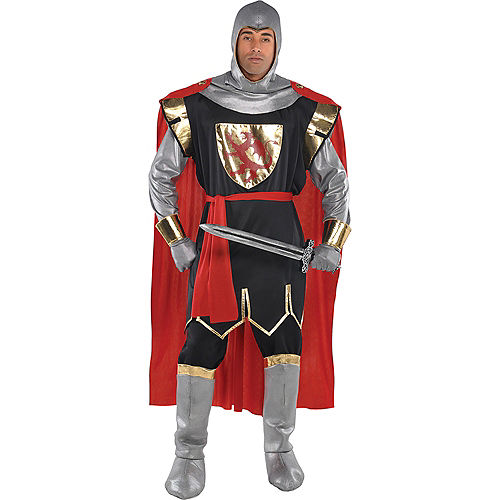 Adult Brave Crusader Knight Costume Image #1